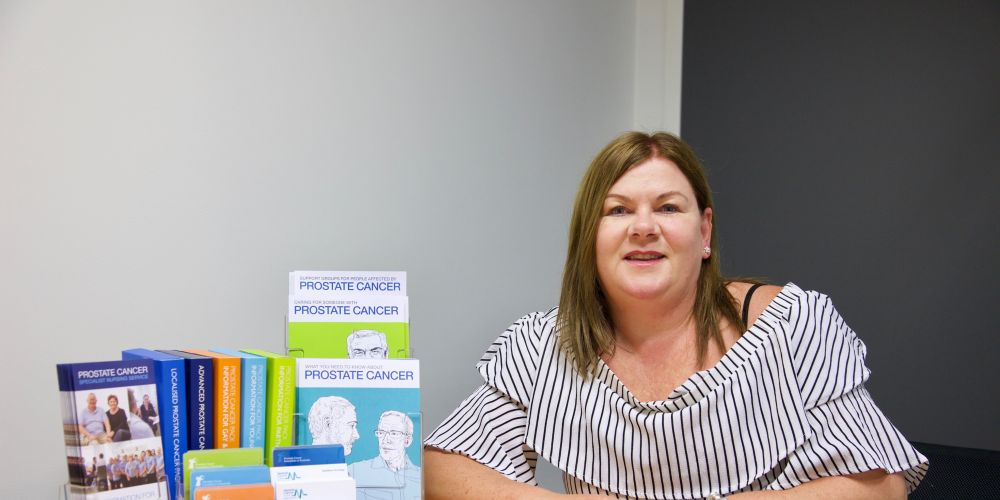 Julie Sykes is one of just 46 prostate cancer care specialist nurses in Australia.