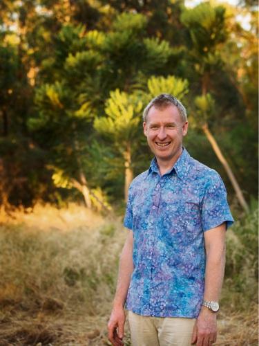 Kwinana resident Simon Miskin wants to help reduce stress in schools.