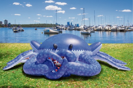 Nipper will be at Hillarys Boat Harbour on Sunday.