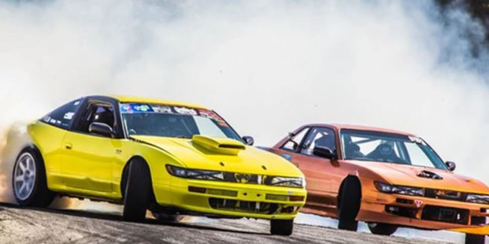 Drifting action will be at Barbagallo Raceway this weekend. Picture: Delta Photography