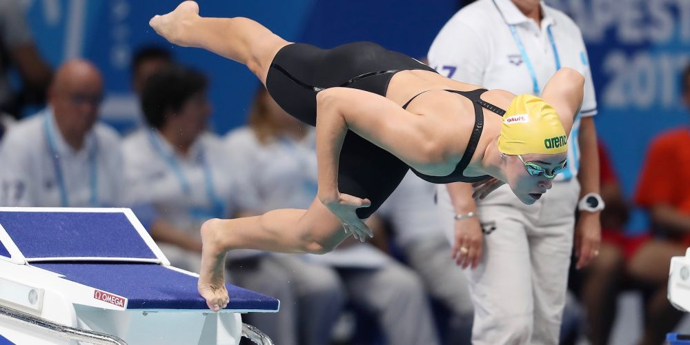 Brianna Throssell will be competing at the 2018 Hancock Prospecting Australian Swimming Trials.