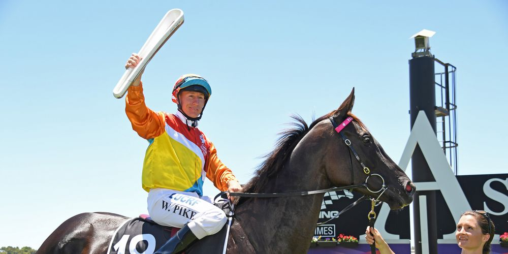 William Pike carried the Queen's Baton at the Perth Cup earlier this year.