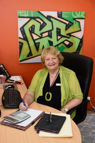 New Peel Youth Services chief executive Liz Prescott. Picture: Jon Hewson www.communitypix.com.au d479573