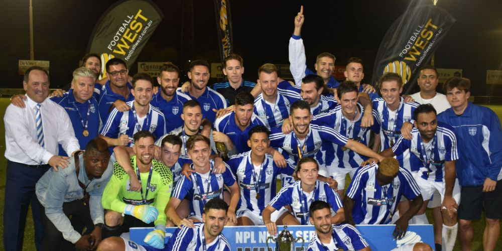 Floreat Athena win the 2018 NPL Night Series final with a 3-1 victory over Subiaco.