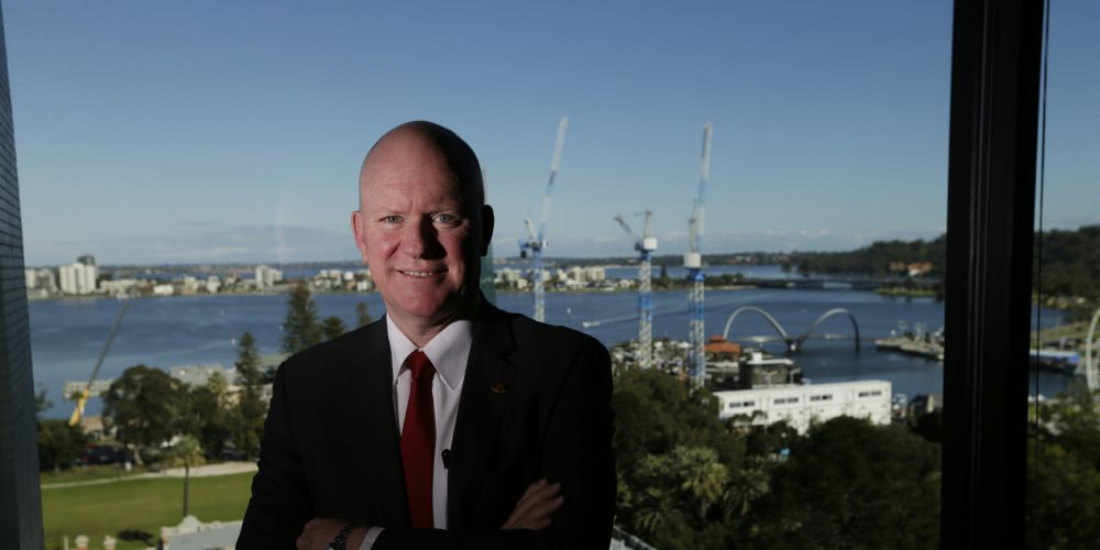 City of Perth commissioners have terminated chief executive Martin Mileham's contract. Picture: Andrew Ritchie d469707