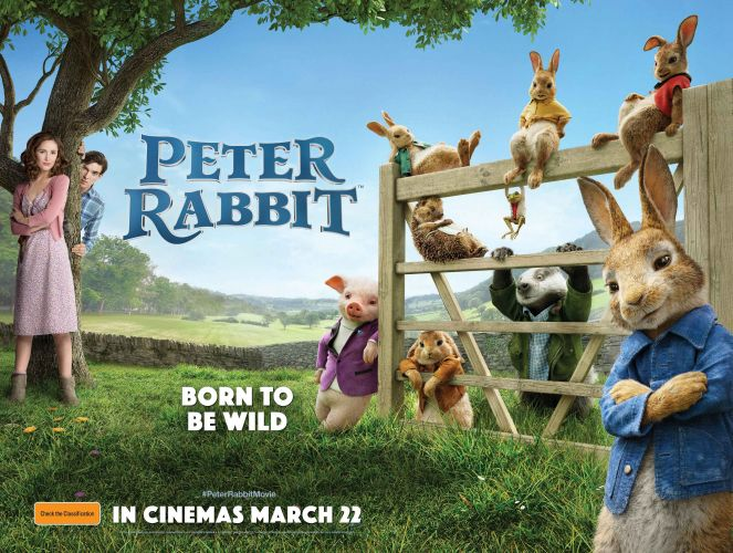 Win tickets to Peter Rabbit