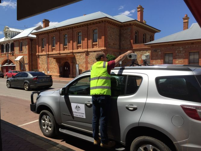 Geoscience Australia is surveying buildings vulnerable to an earthquake in York. Picture: Supplied
