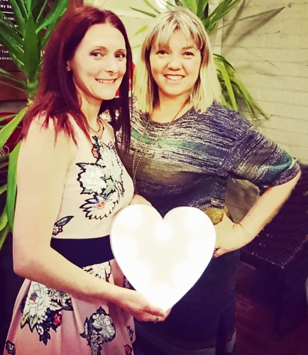Nicole Airey and Yvonne Fletcher are the brains behind NY Events Perth Hills Speed Dating. Picture: Supplied/Speed Dating