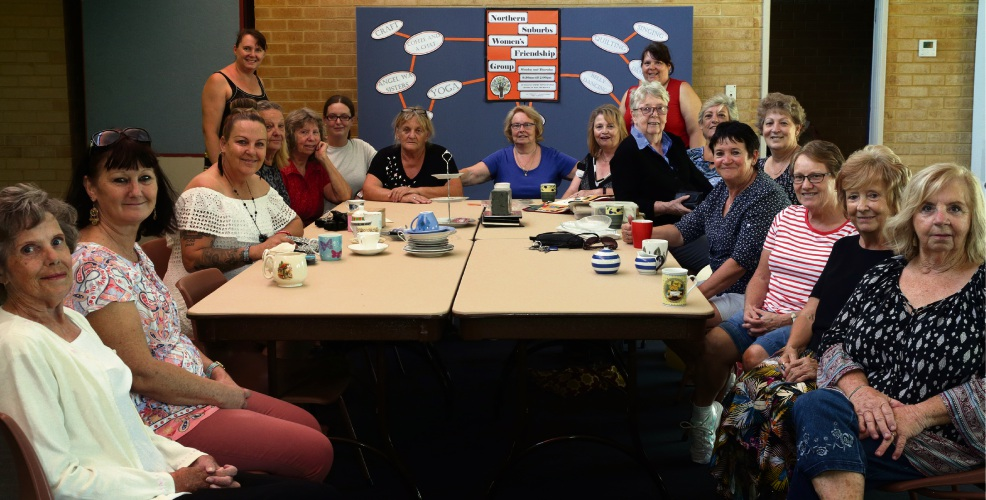 The Northern Suburbs Women's Friendship Group. Picture: Martin Kennealey d479652