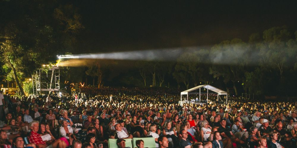 A capacity crowd of 8000 people enjoyed this year's Valentine's Concert. Picture: Adam Nalapraya
