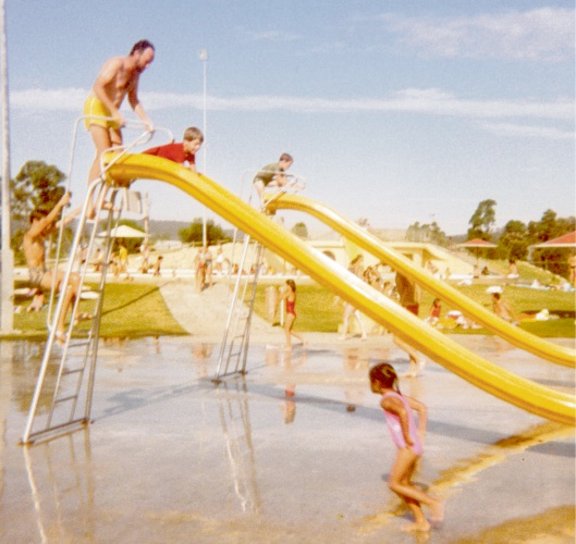 The Armadale Aquatic Centre in 1983, an example of what can be submitted in the historical category.