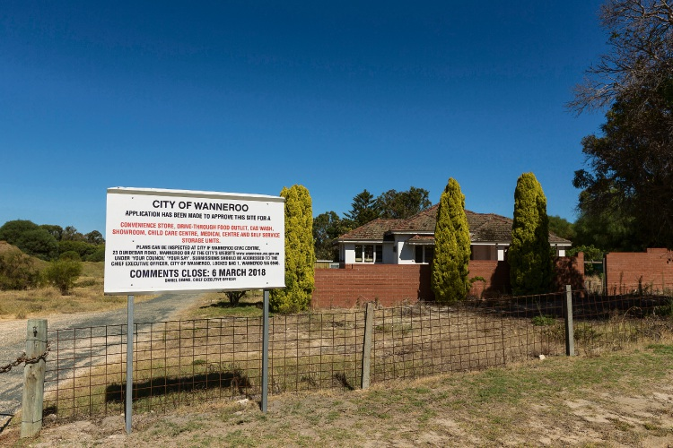 The Ernie Chitty House will be replaced with a commercial development. Picture: Will Russell d479809
