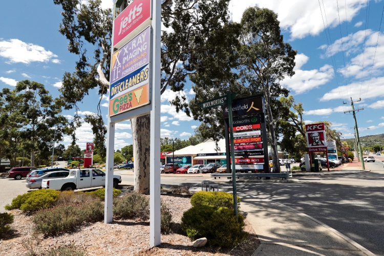 The City of Kalamunda wants residents feedback on the Hale Road/Woolworths Drive intersection in Forrestfield. Picture: David Baylis d479767