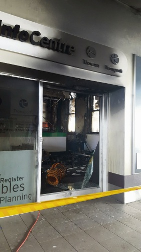 Perth: Man appears in court on Perth train station fire charge