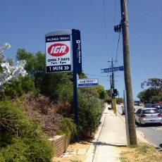 Scarborough: mixed reactions to illuminated signs on West Coast Hwy and Scarborough Beach Rd