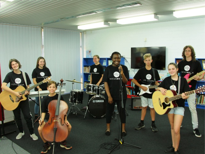 This year's participants of In the Mix are busy preparing for the Corymbia Festival. Picture: In the Mix 2018