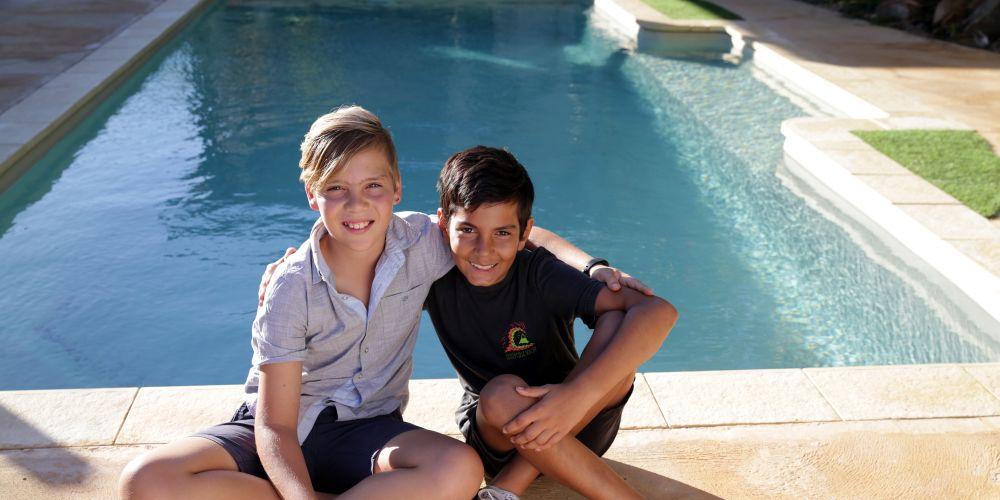 Harrison Jory (11-Yanchep) and Noah Lekias (11-Carabooda).