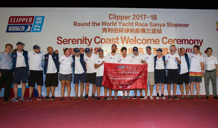 PSP Logistics in Sanya, China for the Clipper 2017-18 Round the World Yacht Race.