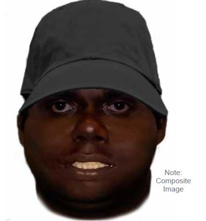North Perth axe attack: police release identikit of suspect who attacked 70-year-old woman