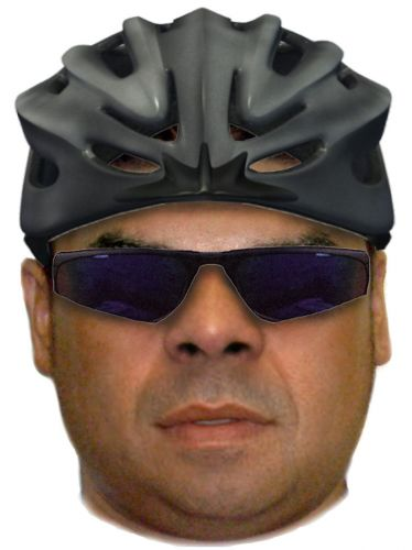 An identikit image of the man police are looking for.