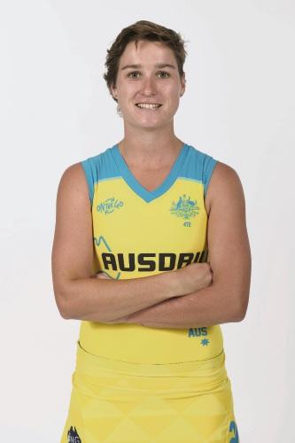 Hockeyroo Kathryn Slattery will talk at the Victoria Park Library.
