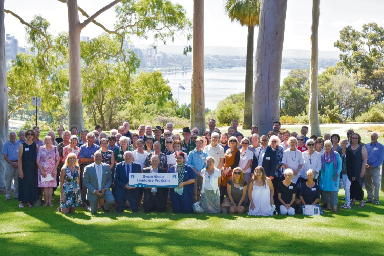 The Swan Alcoa Landcare Program celebrates its 20th anniversary in 2018.