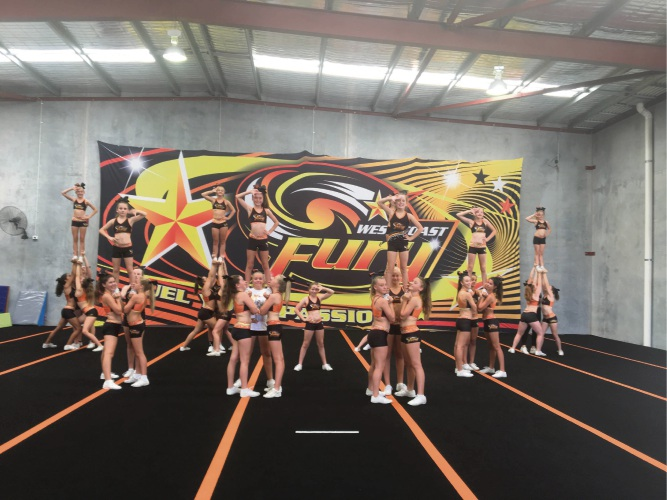 West Coast Fury in Wangara hopes to send two teams to the US for the Varsity All Star International Cheerleading Competition.