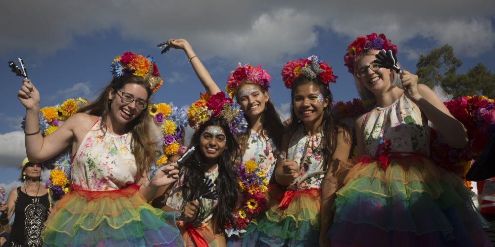 A group of girls dressed as fairies pictured at a community stop at the Swan River as the Queen's Baton Relay visited Guildford. From 25 January to 2 March 2018, the Queen's Baton will visit every other state and territory before Queensland. As the Queen's Baton Relay travels the length and breadth of Australia, it will not just pass through, but spend quality time in each community it visits, calling into hundreds of local schools and community celebrations in every state and territory. The Gold Coast 2018 Commonwealth Games (GC2018) Queen's Baton Relay is the longest and most accessible in history, travelling through the Commonwealth for 388 days and 230,000 kilometres. After spending 100 days being carried by approximately 3,800 batonbearers in Australia, the Queen's Baton journey will finish at the GC2018 Opening Ceremony on the Gold Coast on 4 April 2018.