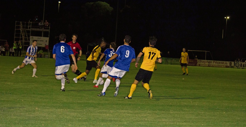 Forrestfield United drew with Floreat Athena in its opening match of the NPLWA season. Picture: Forrestfield United FC