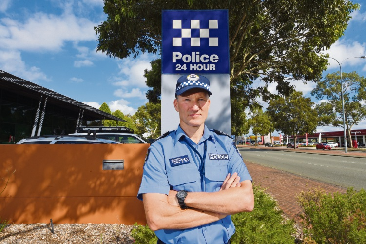 Cannington Police's Paul Crawshaw is hoping to stamp down on theft leading to tap-and-go fraud.