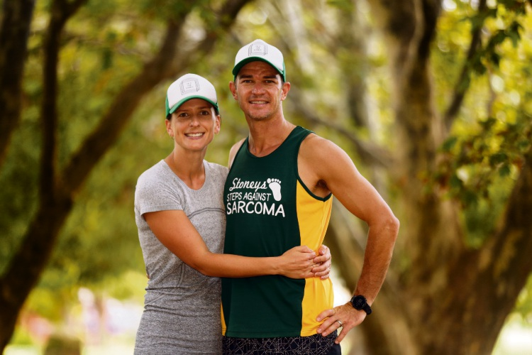 Ashlee and Nathan Kammann. Picture: Martin Kennealey d479756