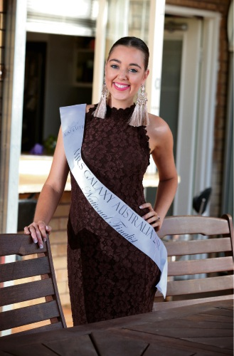 Lara Ellis is a finalist in the Mrs Galaxy Australia National 2018 competition. Pictures: David Baylis  www.communitypix.com.au d479991