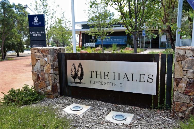 The Hales development in Forrestfield on Hawtin Road.