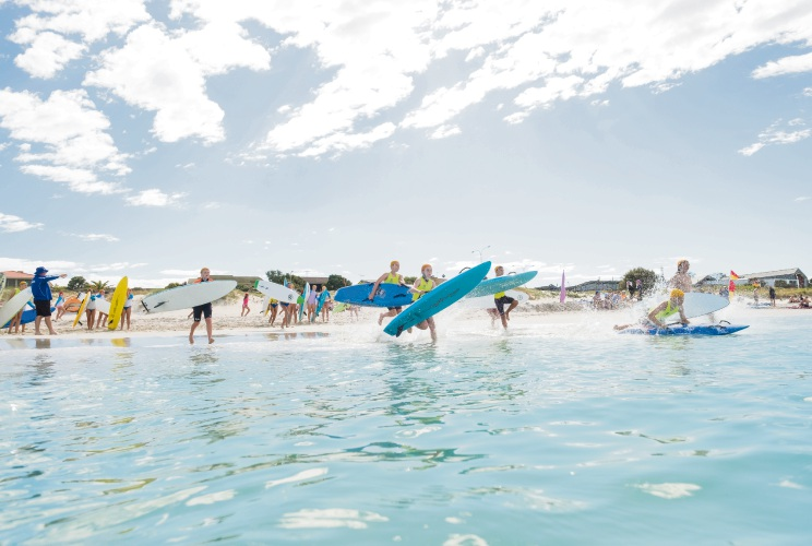 Quinns Mindarie Surf Life Saving Club will hold two open days in March during its weekly nippers training. Picture: Paul Jarvis