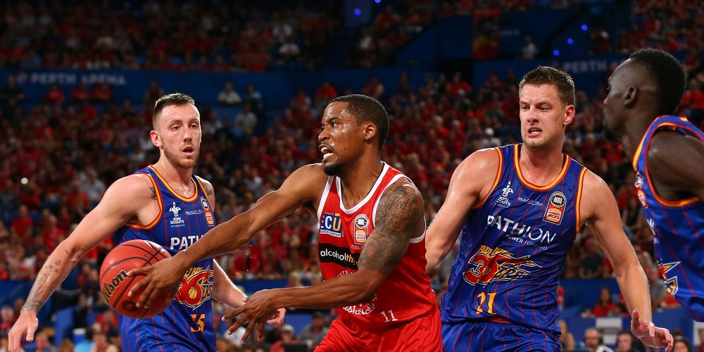 NBL MVP Bryce Cotton will be important against the 36ers. Picture: Getty Images