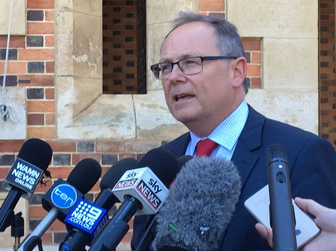 David Templeman has suspended City of Perth's council. Picture: Jessica Warriner