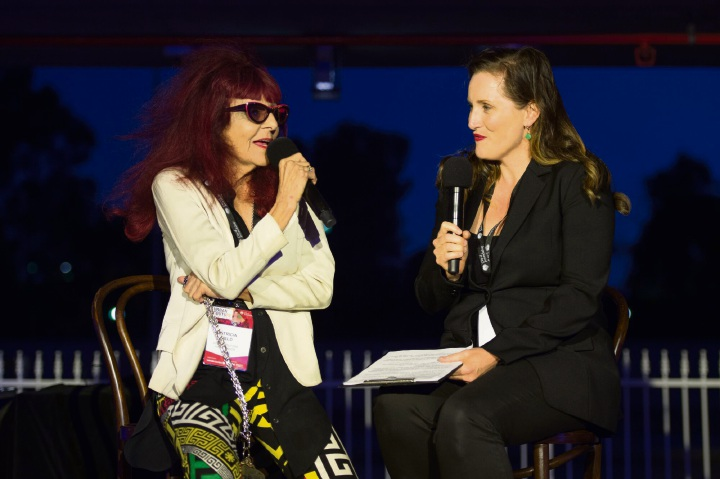 Patricia Field and Claire Davies.