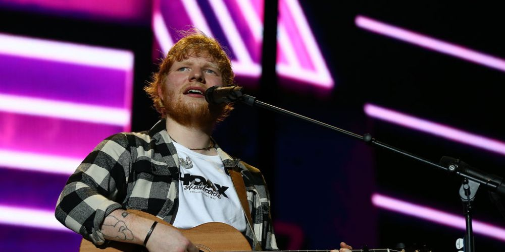 Ed Sheeran performs in concert on the opening night of his Australian tour at Optus Stadium. Picture: Paul Kane/Getty Images.