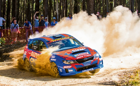 Brad Markovic racing in Ballarat. Picture: Aaron Wishart
