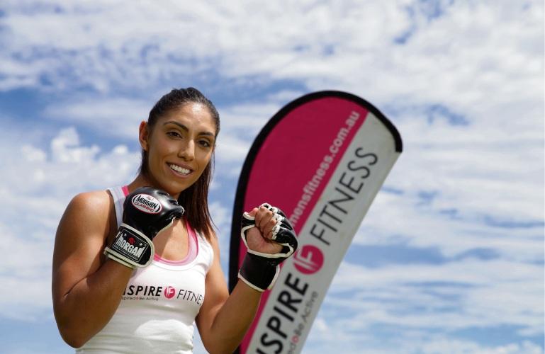 Inspire Fitness director Olivia Del Borrello. Picture: Martin Kennealey d479514