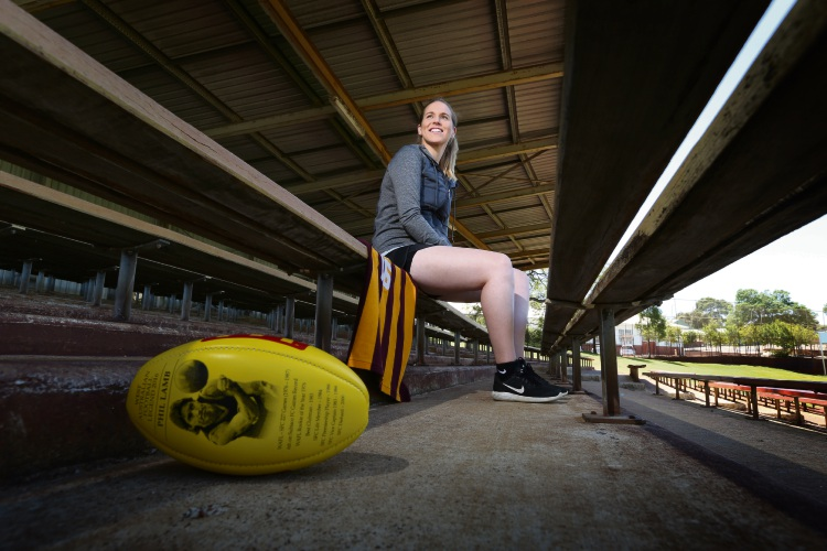 International Women's Day: Katie Lamb to follow in dad's footsteps at Subiaco