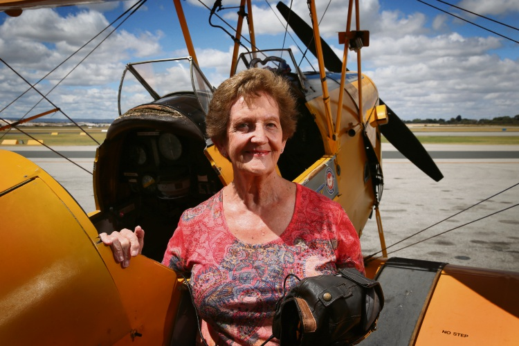International Women's Day: Jandakot Royal Aero Club member always knew she could fly