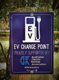 Electric vehicle charge outlet installed at Dwellingup History and Visitor Information Centre