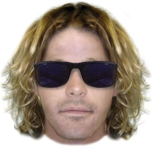 An identikit photo of a man wanted for questioning over a suspicious approach of a child in Baldivis.