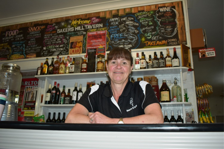 Bakers Hill Tavern owner Lochie Doyle.