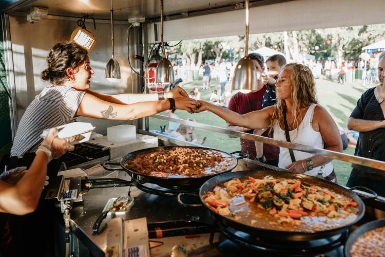 The Rockingham International Food Festival gets bigger each year.