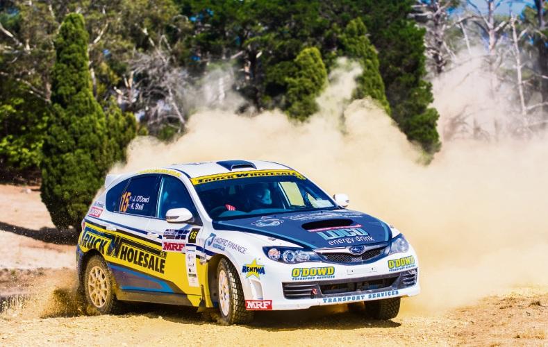 John O'Dowd racing in Ballarat. Picture: Aaron Wishart