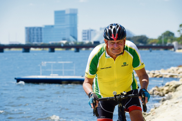 Town of Victoria Park Mayor Trevor Vaughan will take part in the Hawaiian Ride for Youth CEO Challenge.