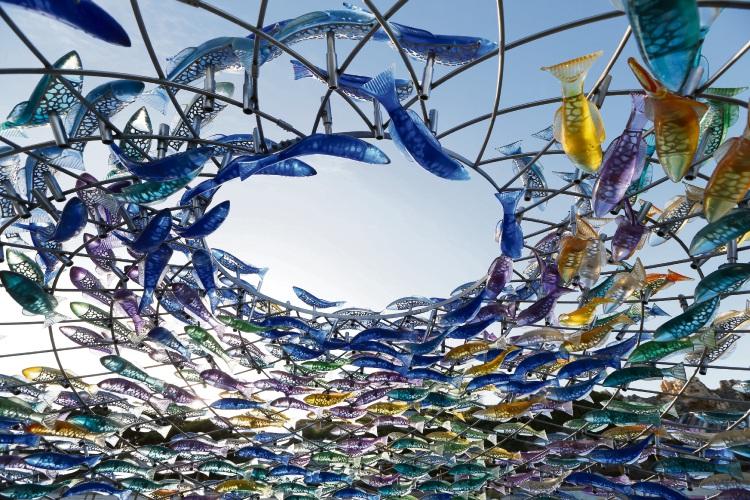<i>Swirling Surround</i> by J. Jane Cowie.