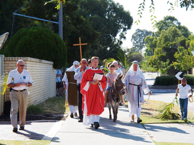 The All Saints' Anglican Church of Bull Creek-Leeming will continue its Palm Sunday Procession on March 25.